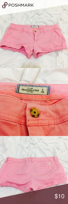 Pink chino shorts Perfect for spring Abercrombie & Fitch Shorts