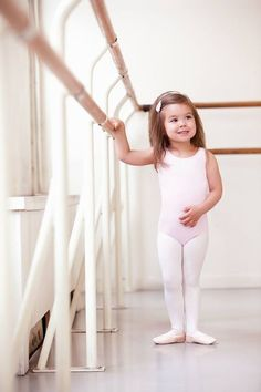 I need a picture of McKenzie like this in her ballet class!