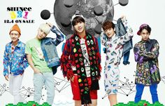 colorful shinee - Buscar con Google