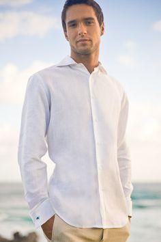 Grooms! Linen Monaco Shirt