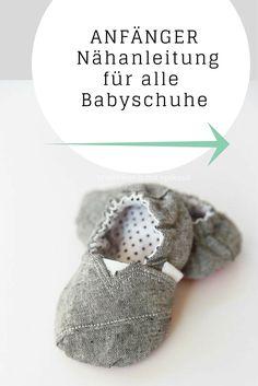 Mehrere Schnittmuster als PDF für Baby Mokassins  zum selber nähen! Größen von 18 bis 27