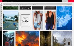 In comparison to Pinterest, Piccsy seems to have a userbase with an exceptional taste for appealing and high-quality visual content.