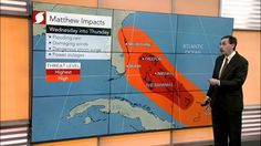Oct 04, 2016; 12:30 PM ET Where is Matthew headed and when? Evan Myers has the details.