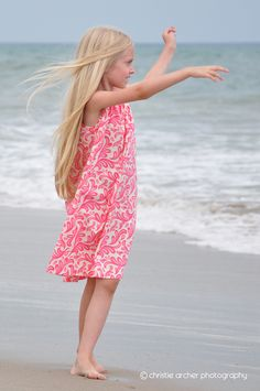 Miss Ferry Corsten - child model  #beach
