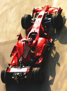 Kimi Raikkonen in the F2008.