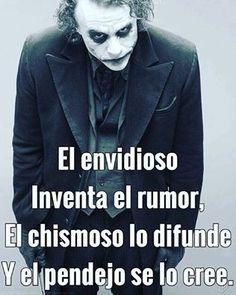 Joker Frases, Joker Quotes, Funny Spanish Memes, Spanish Quotes, Smart Quotes, True Quotes, Qoutes, Pretty Quotes, Joker And Harley Quinn