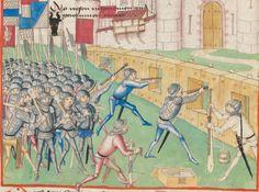 Diebold Schilling, Amtliche Berner Chronik, Bd. 1 Bern · 1478-1483 Mss.h.h.I.1  Folio 243