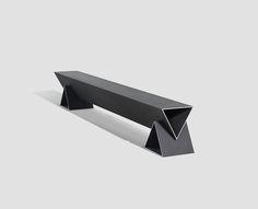 design - The Best of the 2017 Milan Furniture Fair, Part I Milan Furniture, Bench Furniture, Street Furniture, Cheap Furniture, Furniture Design, Furniture Stores, Sheet Metal Art, Bench Designs, Chair Design