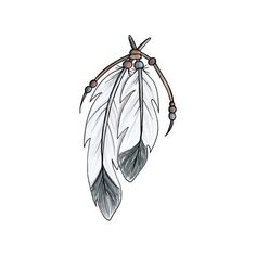 Native feather tattoos ❤ liked on Polyvore featuring accessories and body art
