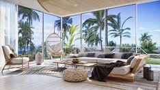 Luxury villa in Thailand, based on an ancient architectural principles. An airy interior with gorgeous architectural features, natural materials & nature views. Koh Samui Thailand, Pattaya Thailand, Thai House, Wooden Accent Wall, Design Your Own Home, Sweet Home, Villa Design, Architectural Features, Best Interior Design
