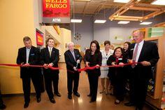Wells Fargo Ribbon Cutting in the Dacula Kroger