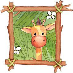 JIRAFAS - Tita K - Picasa Web Albums Zoo Giraffe, Cute Giraffe, Animal Sketches, Animal Drawings, Animals Images, Animal Pictures, Art Mini Toile, Giraffe Drawing, Giraffe Illustration