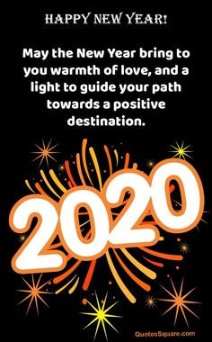 Short Happy New Year 2020 Messages Unique Happy New Year Wishes & Quotes 2020 # Happy New Year Friend Quotes, Happy New Year Poem, Happy New Year Message, Happy New Year Images, Happy New Year 2020, New Year Wishes Messages, New Year Wishes Quotes, Quotes About New Year, Wish Quotes