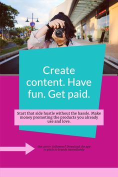 Click the pin link on your mobile to download the app to get started on creating content and get paid! Your go-to for the latest campaigns, tips & tricks, content trends. The world's biggest brands are waiting for your creativity. #influencer #influencing #bloggers #contentcreators #creators #content #influence #pitch #money Content Marketing, Online Marketing, How To Make Money, How To Become, Pinterest For Business, Blogger Tips, Digital Nomad, Work Travel, Blogging For Beginners