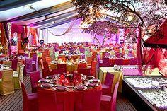 Mariage et lune de miel propose la location d'un yatch à Paris, facile à adapter pour un mariage indien