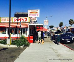 Pink's Los Angeles Iconic Hot Dog House