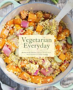 """Vegetarian Everyday"", US edition of the new cookbook by Green Kitchen Stories bloggers. So psyched!"