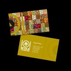 Layout do cartão que fizemos para o Restaurante do Tívoli, arola vintetres.