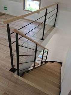 Discover recipes, home ideas, style inspiration and other ideas to try. Stairway Railing Ideas, Staircase Handrail, Staircase Design, Open Stairs, Stairs Architecture, Hotel Interiors, Stairways, House Design, Design Design