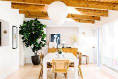 Inside an Interior Designer's Light-Filled Midcentury Denver Ranch via @MyDomaine