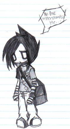 Emo Anime | Emo Anime ÇizimLer | Emoturkey - Emo ResimLeri      aww i like this