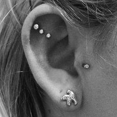 Ear piercings xoxo