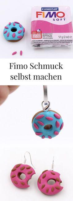 DIY: Fimo Schmuck schnell und unkompliziert selbst basteln. Schnelle Anleitung.