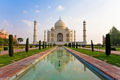 Taj Mahal, India | 26 Real Places That Look Like They've Been Taken Out Of Fairy Tales