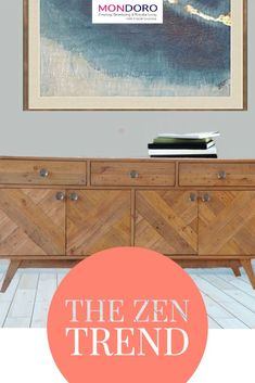 The Zen Color Trend for Home Decor and Home Furniture - Mondoro Company Limited Zen Home Decor, Home Decor Furniture, Home Furnishings, Furniture Design, Zen Colors, Smart Design, Home Decor Trends, Buddhism, Color Trends