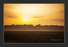 Wokingham, Berkshire, late afternoon sun going down.