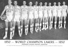 1950 Minneapolis Lakers - NBA Champions