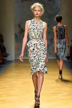 Sfilata Nicole Miller New York - Collezioni Primavera Estate 2014 - #Vogue #nyfw #ss2014 #nicolemiller