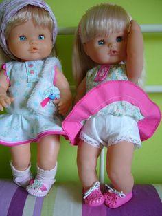 patrones nancy, patrones nenuco, patrones barriguitas, moda nancy, moda nenuco, moda niñas, vestidos niñas, Baby Born, 18 Inch Doll, Childhood Memories, Doll Clothes, Dolls, Face, Patterns, Baby Dolls, Fashion For Girls