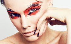 Dagens make-up Archives - Page 289 of 513 - Linda Hallberg Creative Makeup Looks, Unique Makeup, Gorgeous Makeup, Linda Hallberg, Kat Von D, Makeup Videos, Makeup Tips, Make Up Art, How To Make