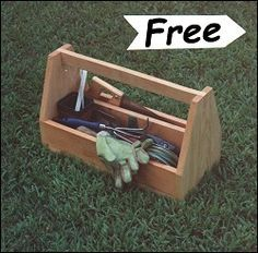 Cub Scout Wood Box | 15 Free Toolbox Plans for Woodworkers