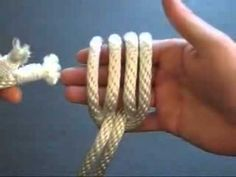 Sexy   How to Tie the Zip Snare - Rope Bondage Knot Tutorial