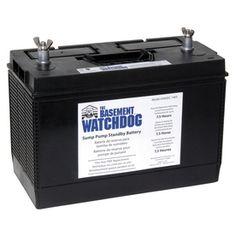 Elegant Replacement Battery for Basement Watchdog