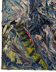 Title:UNTIL THE END Dimensions:11 by 14 by 3/4 in. Medium:Oil Paint Substrate:Stretched Canvas Catalogue:e306 Date:2008 #Oil_Paint #Art #impressionist #Stretched #Canvas #original #oil_painting #expressionist #outsider #art