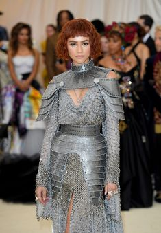 Zendaya Dressed Like Joan of Arc for the Met Gala - HarpersBAZAAR.com