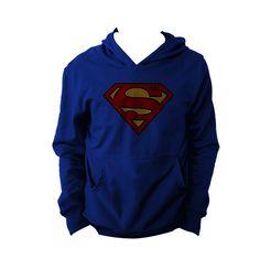 """Sudadera Logo Superman "" Vatos disponible en www.kingmonster.com.mx"