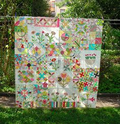 Fun with Block of the Month Quilts