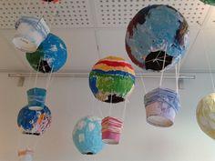 Diy And Crafts, Arts And Crafts, Hot Air Balloon, Balloons, Anna, Hot Air Balloons, Art And Craft, Air Balloon, Balloon