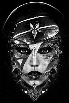 Tattoo inspiration... FANTASMAGORIK®GAGA by obery nicolas