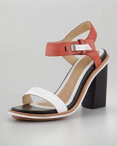 Arlo Colorblock Sandal by Rag & Bone at Neiman Marcus.