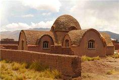 Casa de adobe en Bolivia. Para empezar a inspirarme un poco mas.