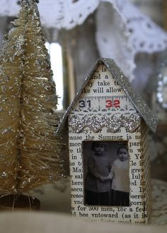 great look Vintage Village Kit Christmas Projects, Christmas Home, White Christmas, Holiday Crafts, Vintage Christmas, Christmas Holidays, Christmas Decorations, Christmas Ornaments, Christmas Figurines