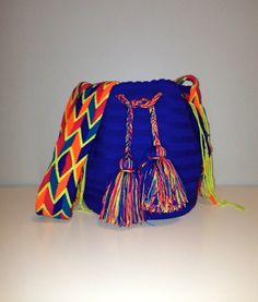 Wayuu Blue Mochila Bag on Etsy, $85.00