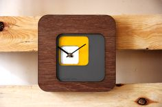 Back clock by Superlipopette. Handmade in France, Charlotte Alexandre & Antoine Coubronne. Customizable design product