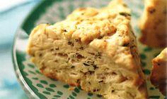 Debbie Macomber's Cedar Cove - Recipes - Honey-Walnut and Butter Scones   Hallmark Channel #cedarcovetv