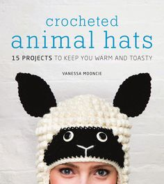 Crocheted Animal Hats: 15 Projects (Sombreros a Crchet de animales, 15 proyectos) Crochet Animal Hats, Crochet Baby Hats, Crochet For Kids, Free Crochet, Knit Crochet, Knitting Patterns, Crochet Patterns, Hat Patterns, Amigurumi Patterns